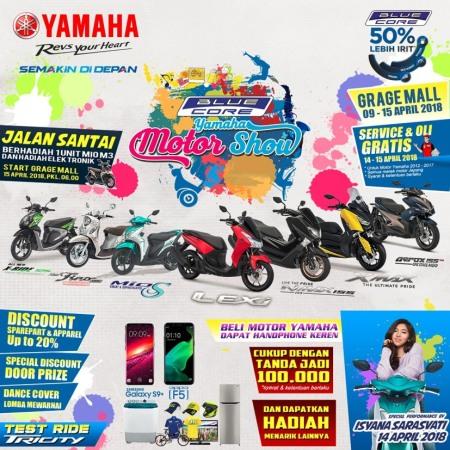 Blue Core Yamaha Motor Show di Cirebon