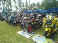 Gathering Nasional ke-3 Yamaha Nmax Club Indonesia (YNCI) di Lombok Nusa Tenggara Barat (3)