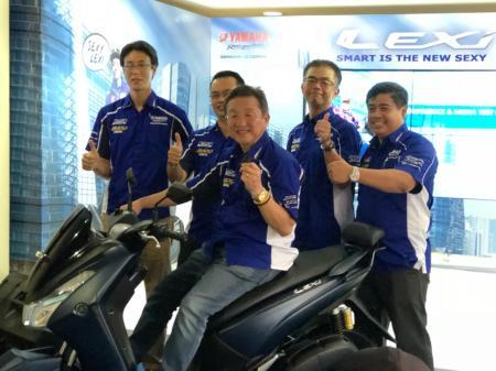 Yamaha Umumkan Harga Yamaha Lexi dan Lexi-S