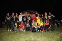 Lady bikers Yamaha Nmax Club Indonesia (YNCI) di gathering nasional YNCI di Lombok Nusa Tenggara Barat (1)