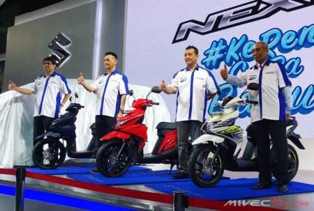 Launching Suzuki Next II di IIMS 2018