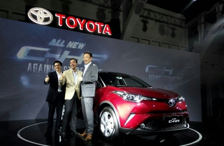 Launching Toyota C-HR