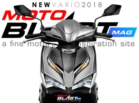 Rendering Honda Vario Facelift 2018