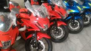 Suzuki GSX-R150 Warna Baru - Stronger Red