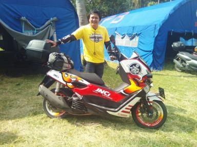 Yudi Kusuma selaku Ketua Umum dan pendiri Yamaha Nmax Club Indonesia (YNCI)