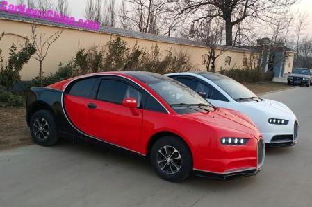 Bugatti Chiron Replika - Ada Merah Hitam atau Putih Hitam