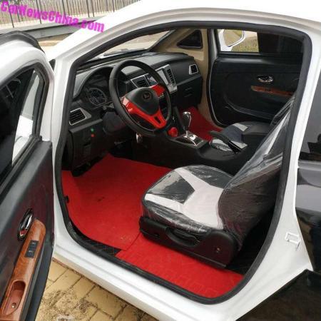 Bugatti Chiron Replika - Interior