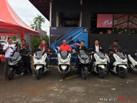 SIap-siap City Rolling bersama All New PCX