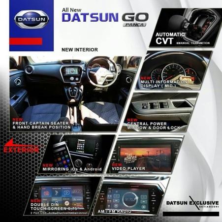Beberapa fitur interior baru New Datsun Go