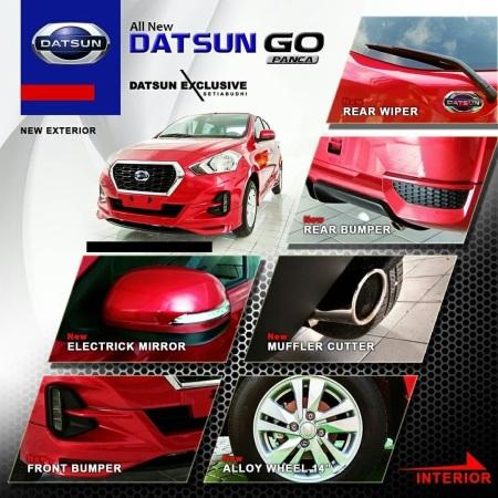 Beberapa fitur eksterior baru New Datsun Go