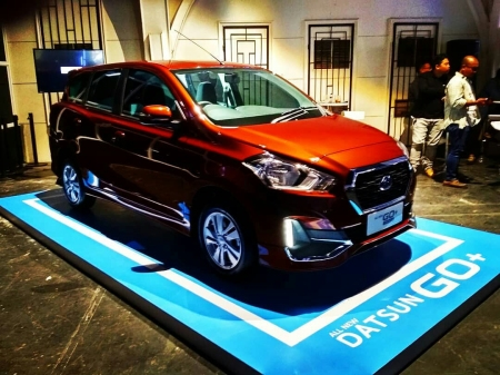 Launching New Datsun Go CVT