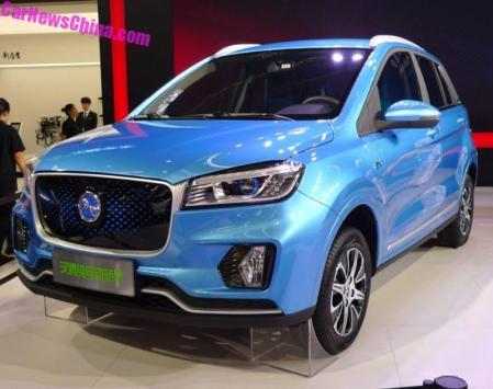 Hanteng EV di Beijing Auto Show 2018 - Kloning Jaguar F-Pace (5)