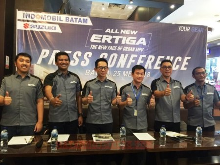 Presscon Launching All New Ertiga Batam (2)