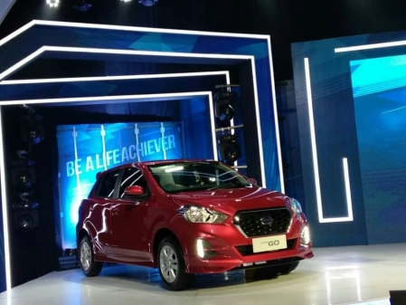 Launching New Datsun Go