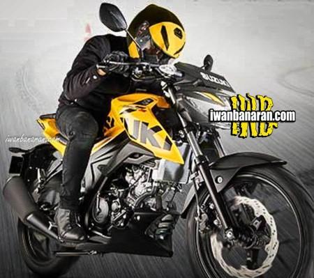 Penampakan GSX-S150 Kuning2
