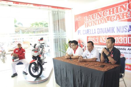 Press Conference Layanan Honda Care Capella