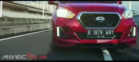 Teaser Datsun Go CVT - Bumper Depan