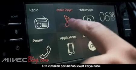 Teaser Datsun Go CVT - Touch Screen