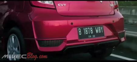 Teaser Datsun Go CVT - Bumper Belakang