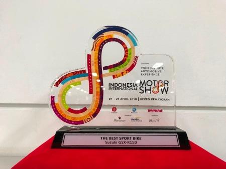The Penghargaan The Best Sport Bike - GSXR150
