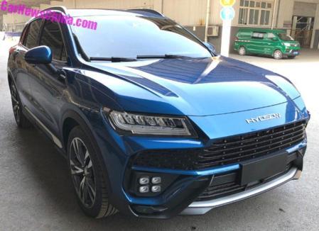 Huansu C60 - Kloning Lamborghini Urus
