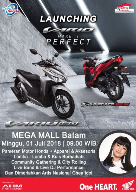 Launching All New Vario Batam