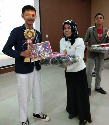 Juara 2 Karya Tulis Honda Kepri
