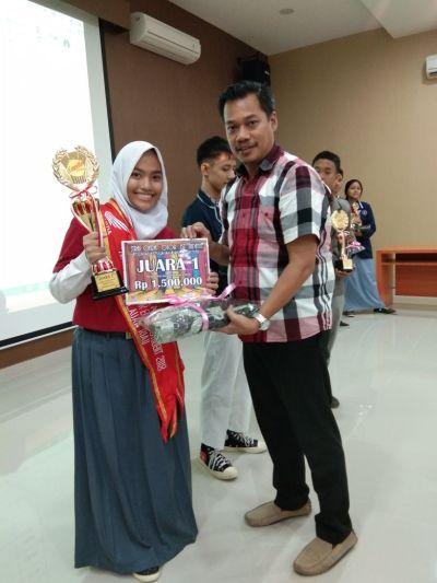 Sadira, Juara 1 Karya Tulis Honda Kepri