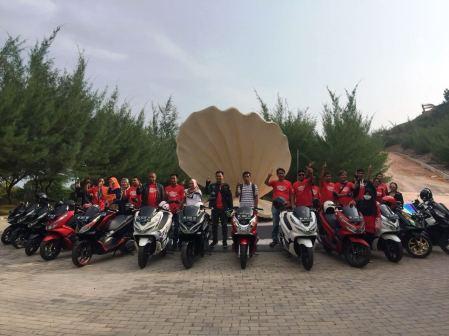 Luxurious Touring bersama PCX - Batam