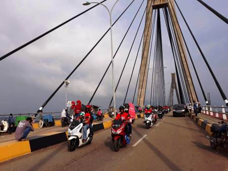 Luxurious Touring bersama PCX - Batam