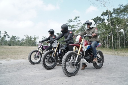 Modifikasi Honda CRF150L (1)
