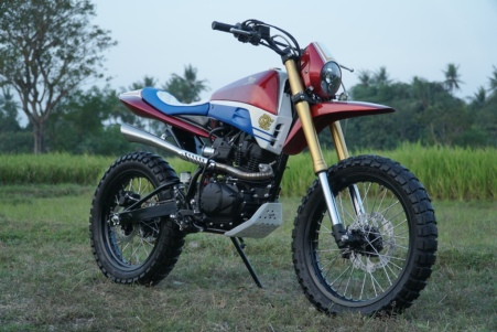 Modifikasi Honda CRF150L