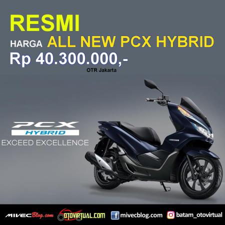 AHM umumkan Harga Resmi All New PCX Hybrid