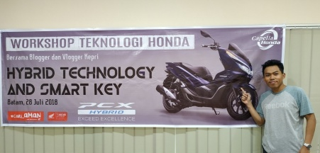 All New PCX Hybrid