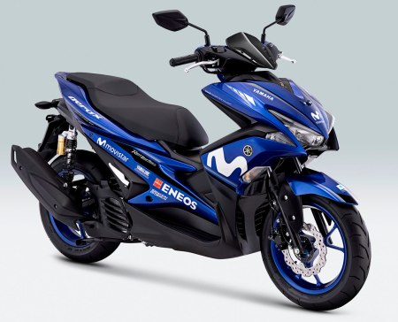 Aerox 155 VVA Movistar Yamaha MotoGP Livery