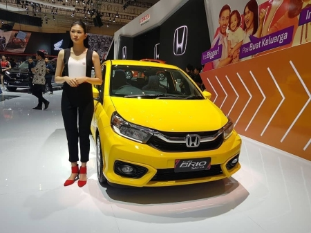 All New Honda Brio Satya - GIIAS 2018