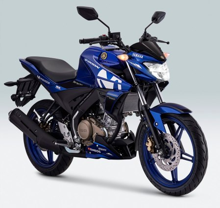 All New Vixion Movistar Yamaha MotoGP Livery