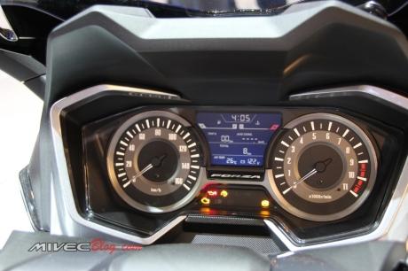 Panel Meter Honda Forza yang sangat lengkap