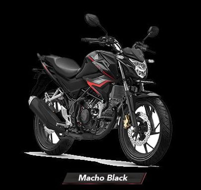 CB150R Streetfire - Macho Black