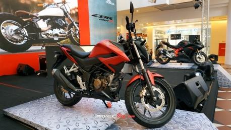 New CB150R Merah Doff