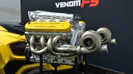 Mesin Hennessey Venom F5