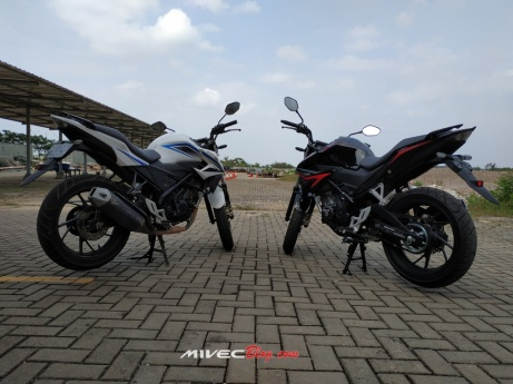 New CB150R vs CB150R Lawas