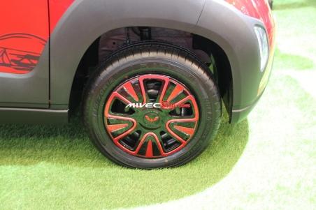 Rodanya mungil dengan velg 12 inci