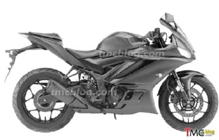 Gambar Paten New Yamaha R25 - R3 (4)