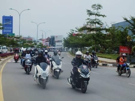 Touring Bersama Menuju Honda Premium Matic Day - Batam (2)