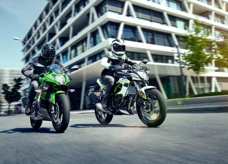Kawasaki Ninja 125 - Z125 Rilis di Eropa