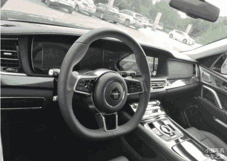 Interior Zotye T900 - Range Rover Sport KW
