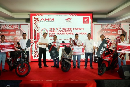 Pemenang Astra Honda Skill Contest for Vocational School 2018