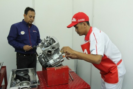 Astra Honda Skill Contest for Vocational School 2018