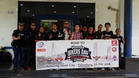 Komunitas Honda Batam Go to HBD Palembang (3)
